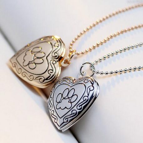 paw print locket love of dogz